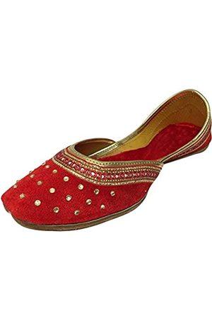 Step N Style Punjabi Jutti Flache Hochzeitsschuhe Khussa Schuhe Indianer Schuhe Juti