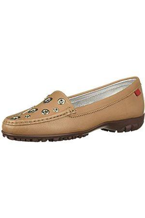 Marc Joseph New York Damen Schuhe - Damen Leder Made in Brazil Mott Street Golf Schuh, Weiá (Sand Körnung)