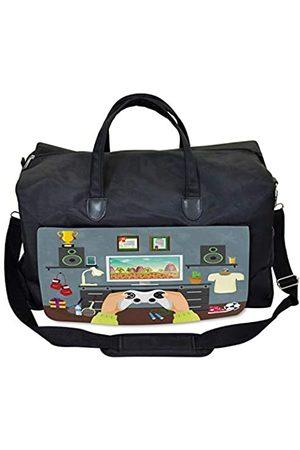 Lunarable Gamer Gym Bag, Gamer Guy Flat Diploma Trophy