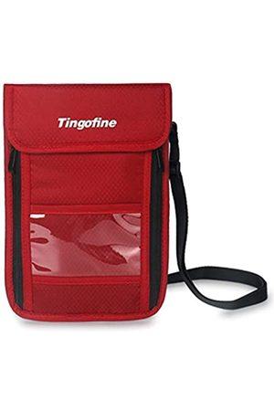 Tingofine RFID-Reise-Geldbörse mit Umhängeband