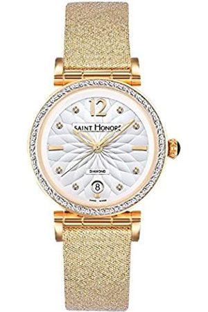 Saint Honore Damen Uhren - SaintHonoréDamenAnalogQuarzUhrmitEdelstahlArmband7520123AFDT2