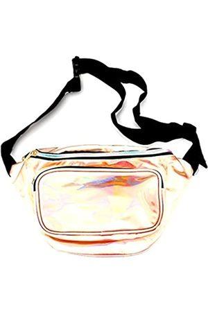 Uniklook Damenhologramm Bauchtasche Geldbörse Hüfttasche PU Wasserdicht Rave Festival Reise Hüfttasche