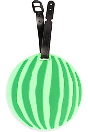 MYS Collection Riah Fashion Damen Taschenanhänger Reise-ID-Etiketten – Süße Gepäckanhänger (Wassermelone)