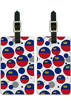Graphics and More Graphics & More J-n-Liechtenstein Nationalflagge - Luggage.Tags.09622
