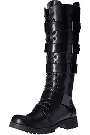 Volatile Women's Heartbreak Combat Boot, Black