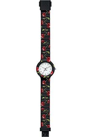 Hip Damen Uhren - Armbanduhr Frau Fruit quadrante Weiss e uhrarmband in silikon Schwarze Kirsche