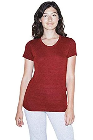 American Apparel Damen Blend Slim Fit Crewneck Short Sleeve Track T-Shirt