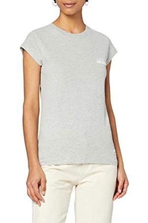 HIKARO Damen T-Shirt mit rundem Ausschnitt, 46