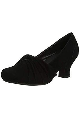 Hotter Damen Pumps - Damen Amethyst Wide Uniform-Schuh