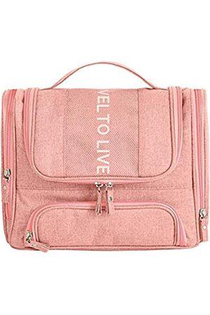 Macleria Kulturbeutel für Damen, Reisegröße, Kosmetiktasche, Make-up-Tasche, Haken zum Aufhängen, für Reisetasche, Badezimmertaschen