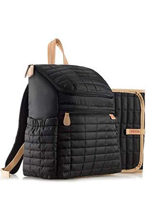 Maman Wickeltaschen - Wickeltasche Rucksack mit Kinderwagengurten Baby Wickelrucksack für Damen Herren mit passender Wickelunterlage