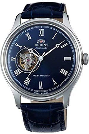 Orient Uhren - Unisex Erwachsene Analog Automatik Uhr mit Leder Armband FAG00004D0