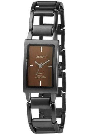 Akzent Damen Uhren - Damen-Uhren mit Metallband SS7177000081