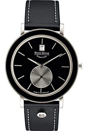 Soehnle Damen Uhren - Bruno Söhnle Damen Analog Quarz Uhr mit Leder Armband 17-73139-741