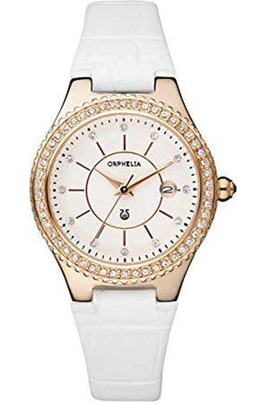 ORPHELIA Damen Uhren - Damen-Armbanduhr Temptation Analog Quarz Leder