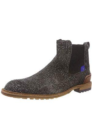 Floris van Bommel Herren 10230/14 Chelsea Boots, (Dark Grey 14)