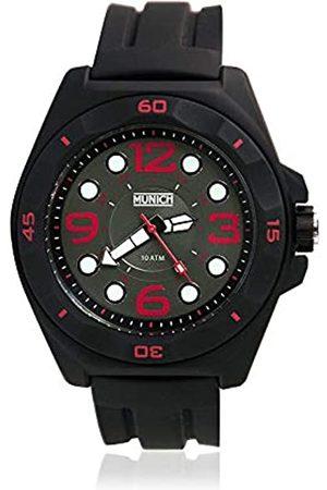 Munich Uhren - Unisex Erwachsene Analog Quarz Uhr mit Silikon Armband MU+112.1A