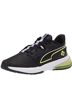 PUMA Damen LVL-UP First Mile Crosstrainer, Black-Soft Fluo Yellow