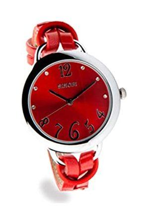 Sinobi Damen Uhren - Damen-Armbanduhr XS Analog Quarz Edelstahl beschichtet 9278/ROU