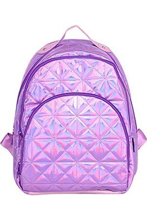 Zumd laser backpack 081 Damen Holografischer Laserrucksack College-Tasche Reise Casual Daypack