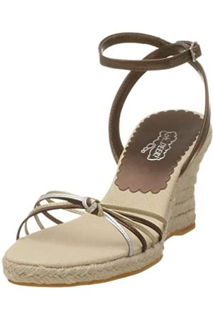 Deer Stags Sassy Damen Knöchel-Sandalen mit Keilabsatz, Mehrere (Multi)