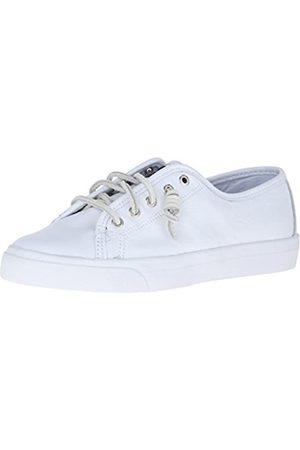 Sperry Damen Seacoast Core Fashion Sneaker, (Weißes Leder)