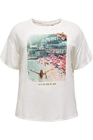 Carmakoma Womens CARFLORAL SS REG Tee T-Shirt