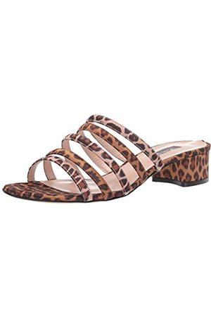 Sjp Damen Sandalen mit Absatz, (Seide Leopard)