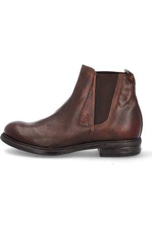 Mjus Chelsea Boots in mittelbraun, Boots für Herren
