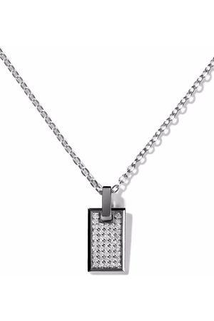 AS29 Damen Halsketten - 18kt Rotgoldhalskette mit Diamanten