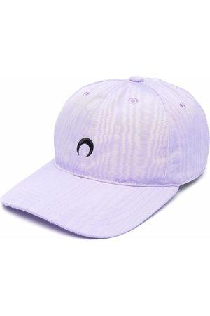 Marine Serre Damen Hüte - Baseballkappe mit Sichelmond-Stickerei