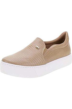 VIA MARTE Damen-Sneaker, Plateau, gepolsterte Einlegesohle, bequem, Tierdruck