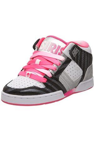 Osiris South Bronx 21771069, Damen Sneaker, (Pink/Black/Silver)