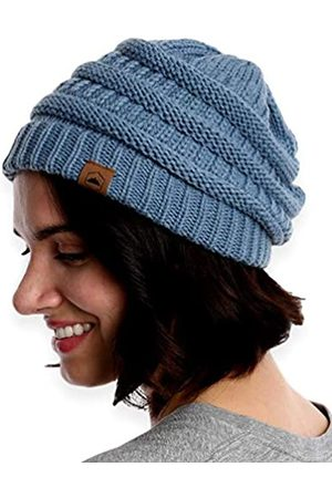 Tough Headwear Damen Beanie Wintermütze – warme grobe Zopfstrickmützen – weich dehnbar dick gestrickte Mütze für kaltes Wetter, Damen Unisex-Erwachsene