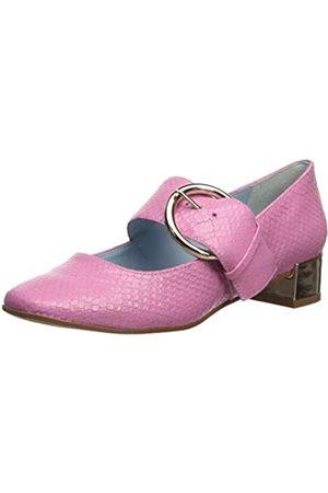 FRANCES VALENTINE Women's Katy Mary Jane Flat pink 9.5 B US