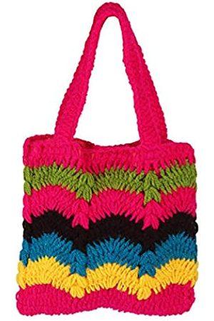 ASHI'S COLLECTION Handgewebte Handtasche für Handy und andere kleine Produkte für Frauen und Mädchen.
