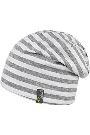 Chillouts Unisex Bogota Beanie-Mütze, 31 White/Grey