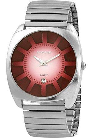 Excellanc Herren – Uhr Zugarmband Metall Comfort fit Anlog Quarz 274025000004