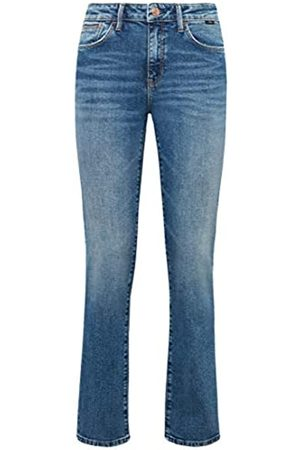 Mavi Damen DARIA Straight Jeans, Blau (Dark 70's Str 30129.0)