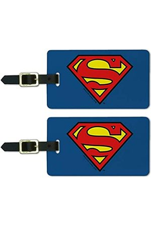 Graphics and More Superman Classic S Shield Gepäckanhänger für Gepäckausweis