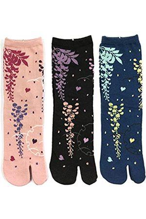 Wrapables Tabi Flip-Flop Socks (Set of 3)