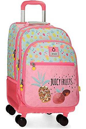 Enso Juicy Fruits 4W Rollbarer Rucksack Mehrfarbig 32x44x21 cms Polyester 29.57L