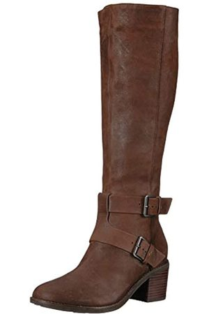 Kenneth Cole Damen Verona Knee-High Riding Boot with Heel Kniehoher Stiefel