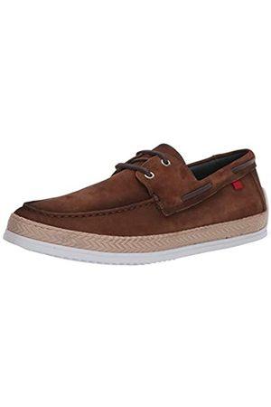 Marc Joseph New York Herren Leder-Schuhe mit Seil-Detail Boot, Braun (Hellbraunes Nubuk)