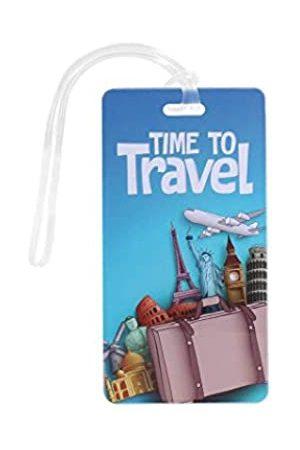 Novah Gepäckanhänger Time to Travel