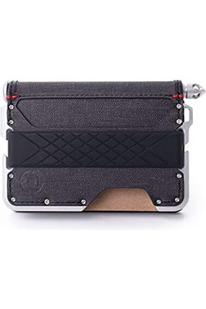 DANGO PRODUCTS Dango D01 Dapper Bifold Pen Wallet - Black DTEX/Satin Silver