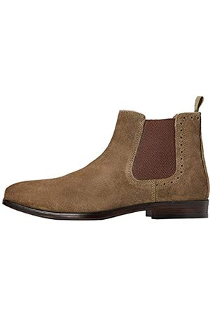 FIND Marin Chelsea Boots, Grün (Khaki)