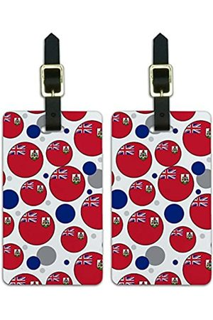 Graphics and More Graphics & More c-Bermuda Nationalflagge - Luggage.Tags.09541