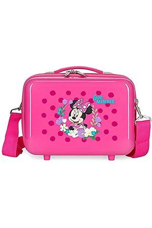 Disney Minnie Golden Days Kulturbeutel, anpassbar, mit Umhängetasche