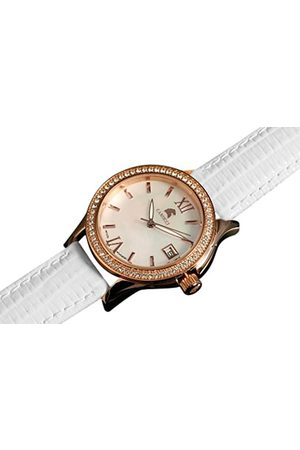 Carucci Watches Damen-Armbanduhr Analog Automatik Leder CA2188RG
